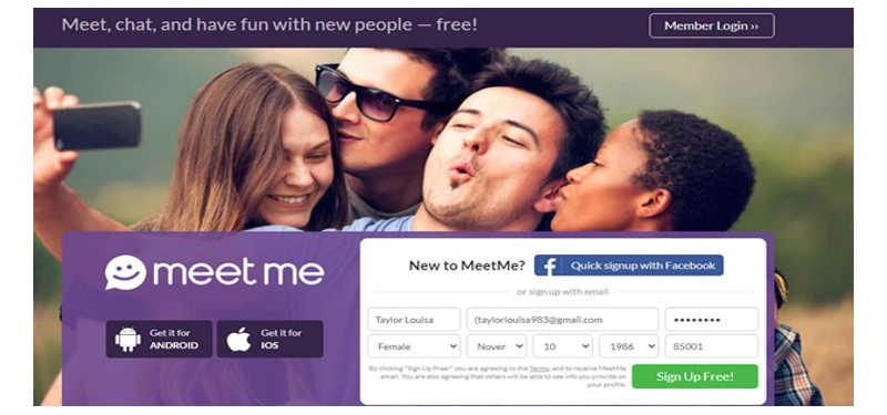 Temporarily blocked account meetme Account temporarily